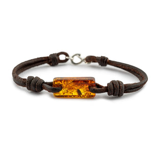 Aeon - Dark Havana English Bridle & Baltic Brown Amber