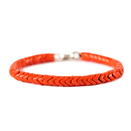 Accent - Vintage Coral Snake Beads