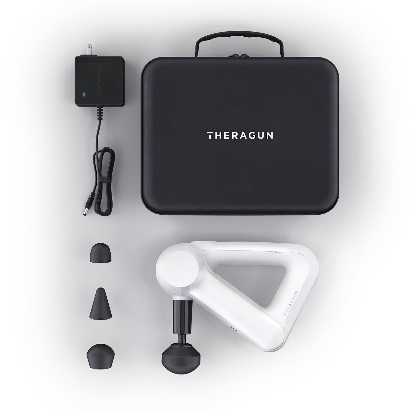 Theragun G3<br><h6>Accelerate recovery after an intense workout with this Theragun G3 percussion massager.  This premium percussive therapy device delivers a powerful deep muscle treatment that increases muscle activation, relieves soreness, and helps treat pain naturally.</h6>