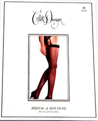 Collette Dinnigan Briday & Boudoir Backseam Stocking