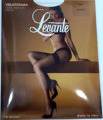 Levante Velatissima Classic Sheer Nylon Stay Up