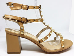 Pagent - Stylish Nude Heel with Gold Detail by Emma Kate