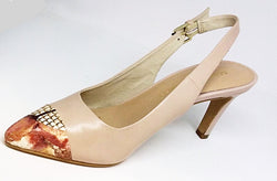 Mood - Nude Sling Back with Detail on the Toe by Martini Marco
