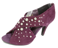 Showy - Purple Suede Heel with Metal Detail by Ameise - ONLY SIZE 41 (AU 10 to 10.5) LEFT