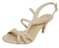 Mina - Nude Strappy Heel by Martini Marco