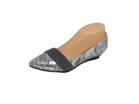 Loco2 in Grey Love - Grey and Silver Small Wedge by Katie n Me