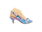 Kolette - Bright Love Pink and Blue Heel by Katie n Me