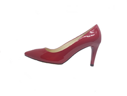 Evil - Red Patent Leather Heel by Emma Kate
