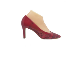 Mooch - Red Patent Leather Detailed Heel by Martini Marco
