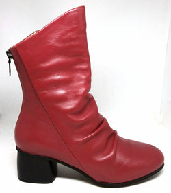 Nigh - Red Mid Length Boot by Martini Marco