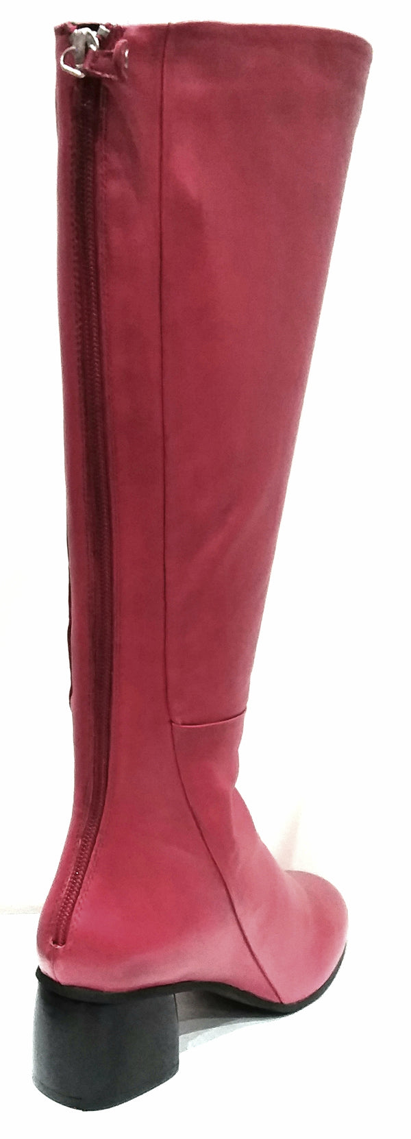 Nordic - Muted Red Knee Length Boot by Martini Marco