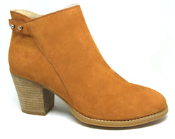 Newsy - Biscotti Nubuck Leather Ankle Boot by Martini Marco