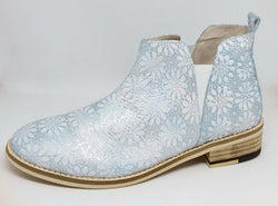 Roma - Ice Blue Ankle Boot by Bittersweet