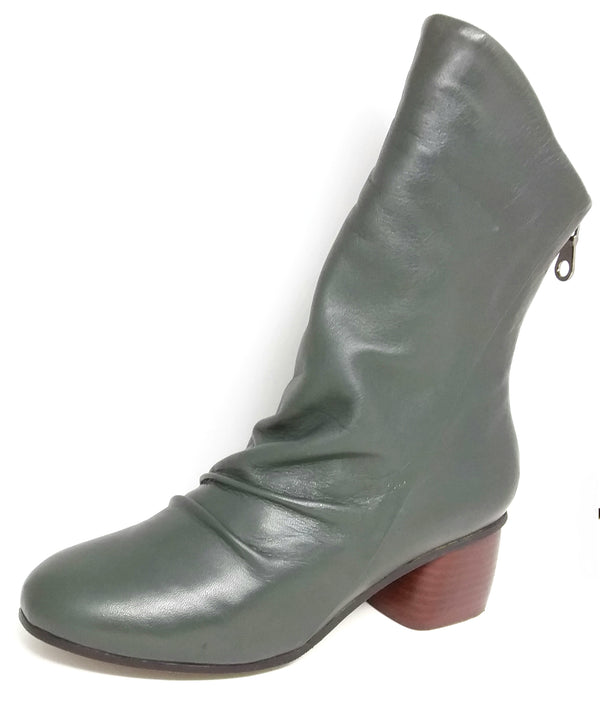 Nigh - Green Mid Length Boots by Martini Marco