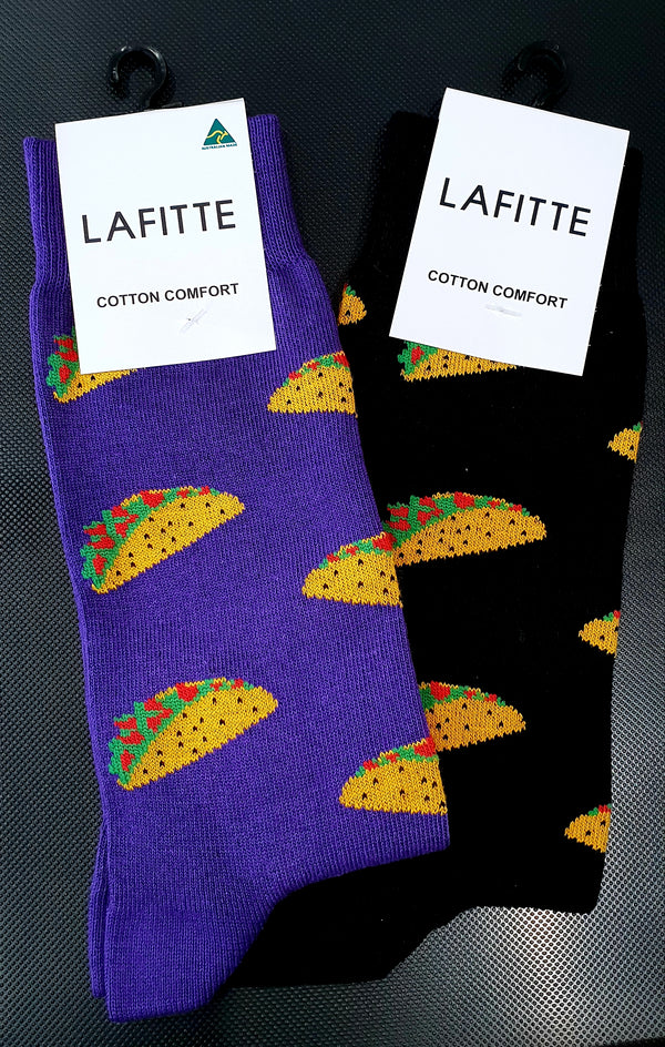 Taco Socks - Black