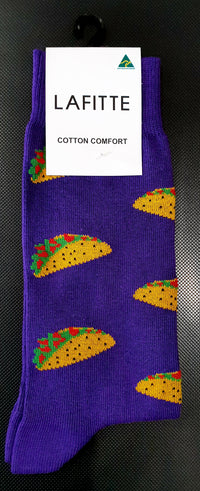 Taco Socks - Purple