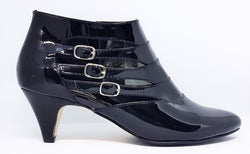 Brea in Black Patent Leather - Last Pair - Size 43 (AU 12 to 12.5)