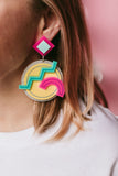 Memphis earrings