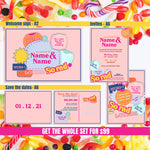 Load image into Gallery viewer, Retro Milk Bar 🍦 Full stationery package bonanza 🍭customised | digital
