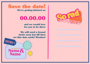 Digital Save The Date 🍦 customised