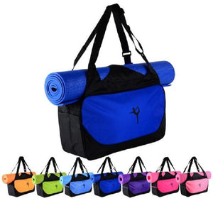 Colorful, functional waterproof Yoga bag, gym bag, Pilates bag, mat bag.
