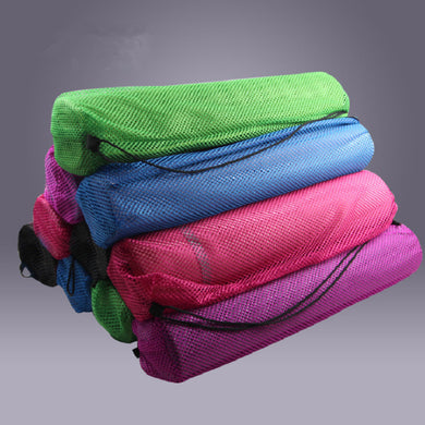 Breathable Net Yoga Bag, 3 Colors. Yoga Bag, Gym Bag, Pilates Bag, Fitness Bag
