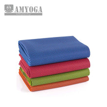 Foldable Natural Rubber Yoga Mat. Anti Slip Rubber for Gymnastics, Yoga, Pilates, Exercise.