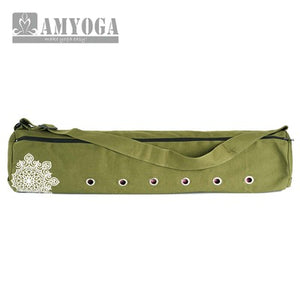 Canvas Yoga Bag, Gym Bag, Pilates Bag. Convenient Over the Shoulder Style