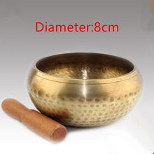 1 Set Copper Singing Bowl. Tibetan Meditation Singing Bowl With Hand Stick. A Lovely Gift Idea.