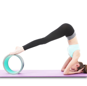 Comfortable EVA Yoga Wheel. Massage, Pilates and Fitness Roller. A Must-Have!