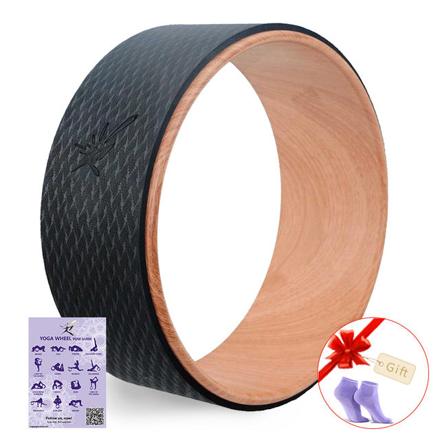 Narcissism STRONG Yoga Wheel Can Support up to 1000 lbs.