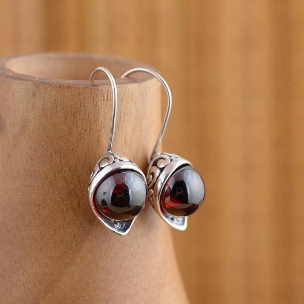 BALMORA 925 Sterling Silver Drop Earrings for Women. Lovely!