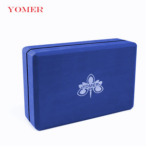 YOMER EVA Yoga Block.  Foam Block/Brick for Balance, Workout, Stretching Aid