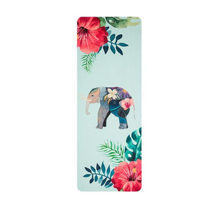 Choose from Several! Ultra thin Natural Rubber Eco-friendly Slip-Resistant Yoga Mat