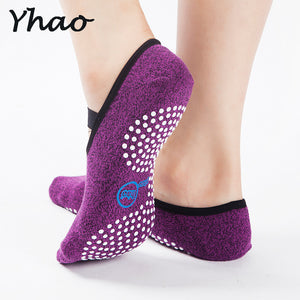 Yhao Yoga Socks Quick-Dry Anti-slip Cotton Spandex