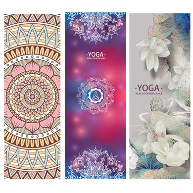 LOVE!! Natural Rubber Yoga Mats.