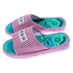 Reflexology Foot Acupoint Slippers will Massage Those Tired Feet!