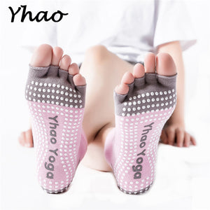 New Arrival Yhao Brand Yoga Women's Toe Socks Anti-Slip Socks