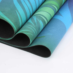 Natural Rubber Yoga Mat. Eco Friendly, Foldable and Ultra Light