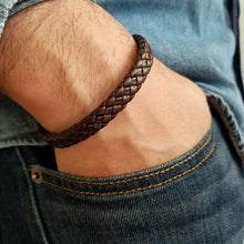 New Arrival! Men's Stylish Luxury Jewelry.  Simple Wrap Leather Bracelet.