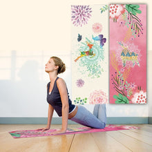 New Deer Print! Foldable Yoga Mat/Yoga Towel in Two Designs