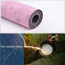 NEW Ultra Thin Suede Natural Rubber Slip-Resistant Yoga Mat