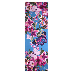 Eco Friendly Printed Natural Rubber Yoga Mat.