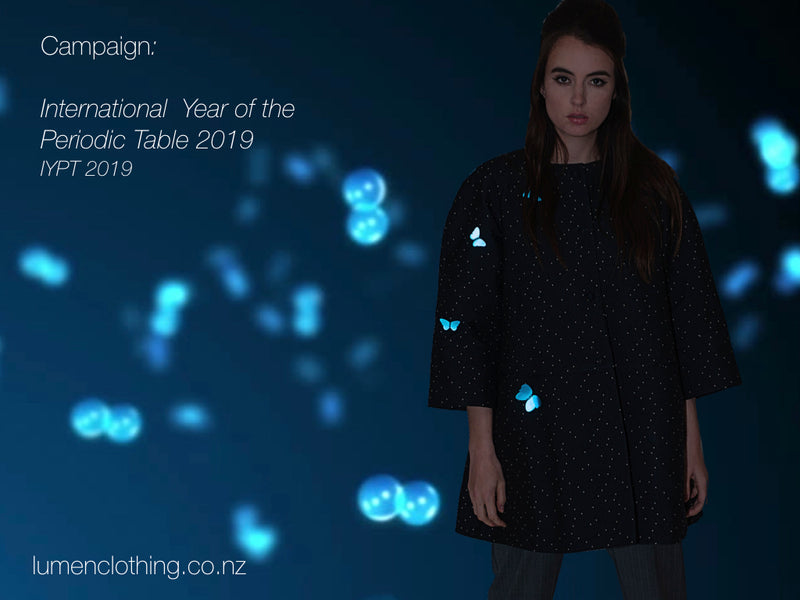 Lumen Collection Inspired by the International Year of the Periodic Table