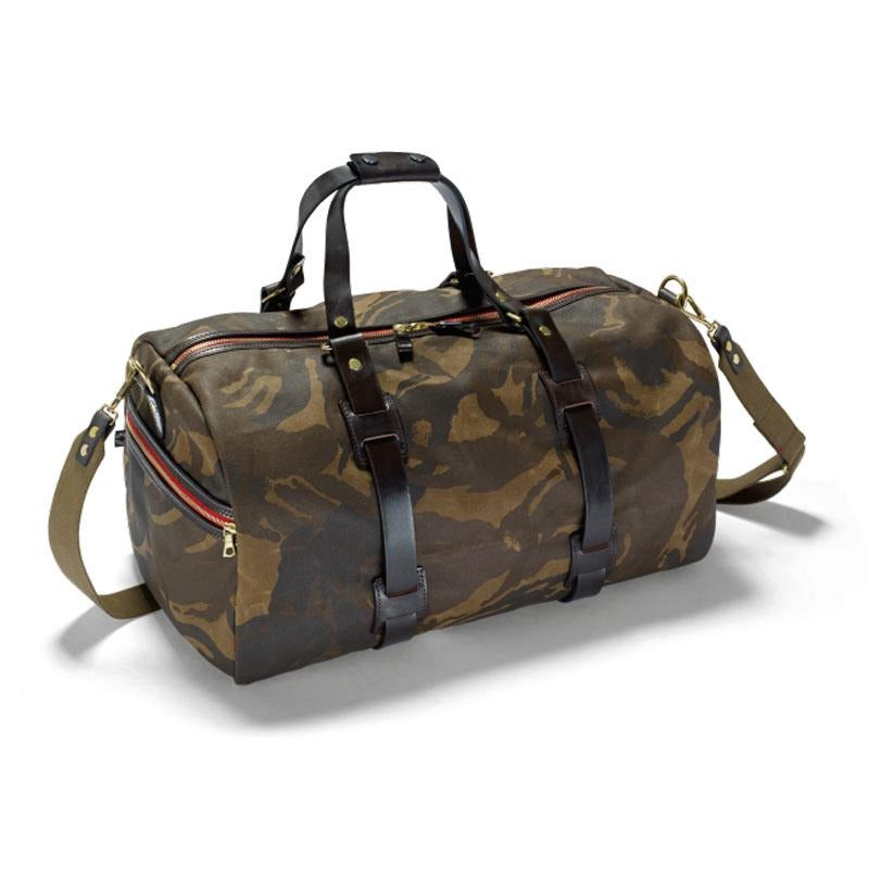 Camouflage-Dufflebag Canvas - Gustavia Shop