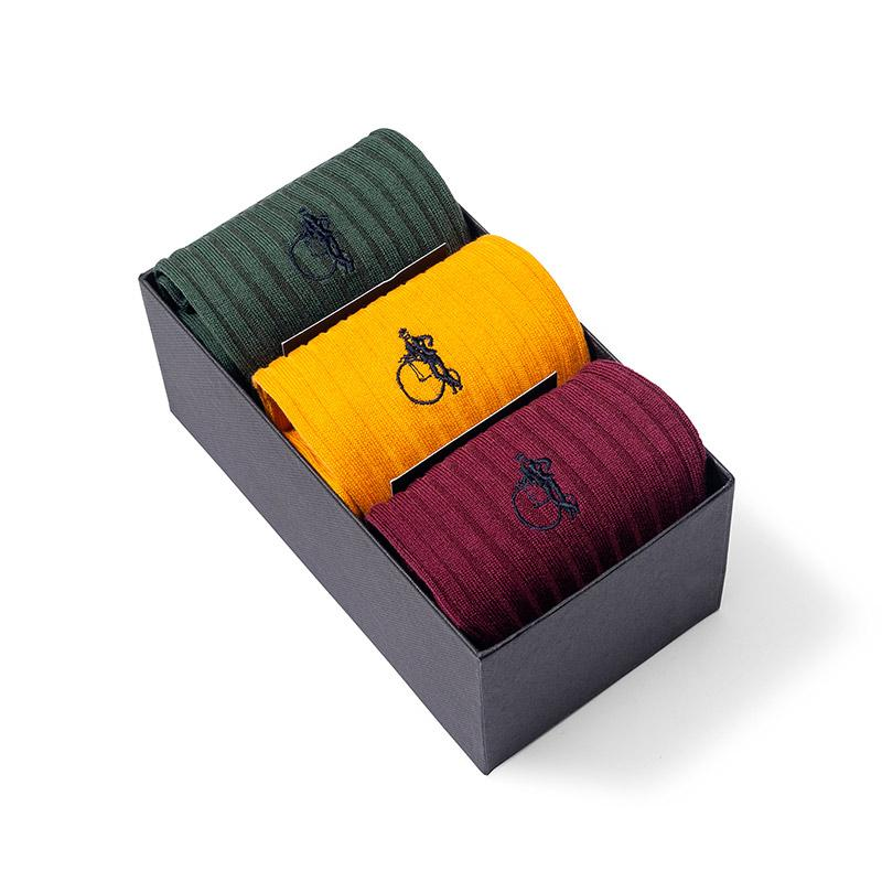 Socken Geschenkbox Racing Green - Gustavia Shop