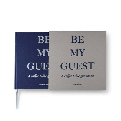 "Gästebuch ""Be my Guest"" - Gustavia Shop"