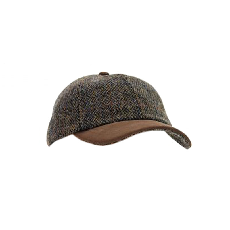 Baseballkappe Harris Tweed - Gustavia Shop