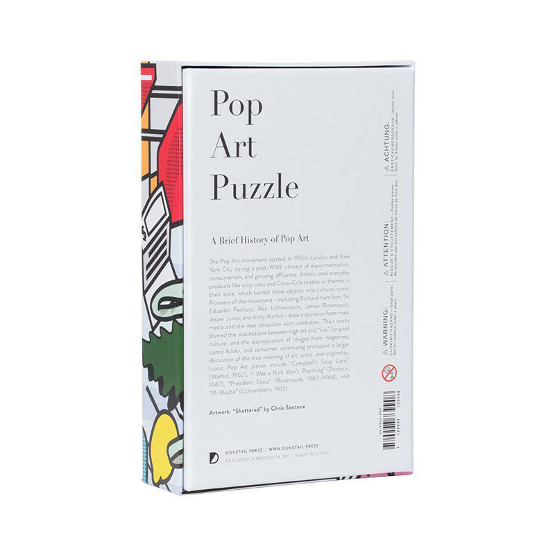 Puzzle Pop Art - Gustavia Shop