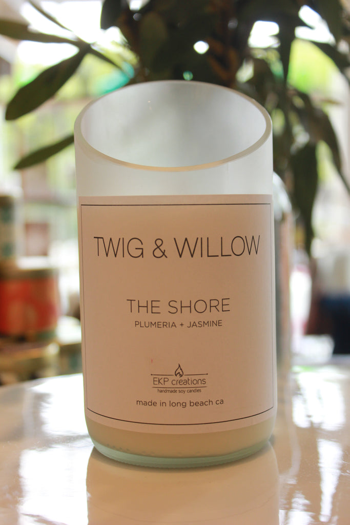 Twig & Willow - The Shore, Plumeria & Jasmin